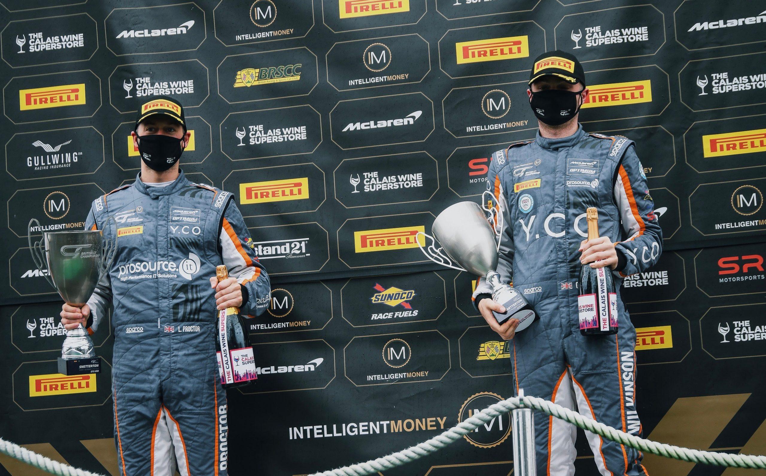 2020 – Intelligent Money British GT Championship, McLaren 720S GT3