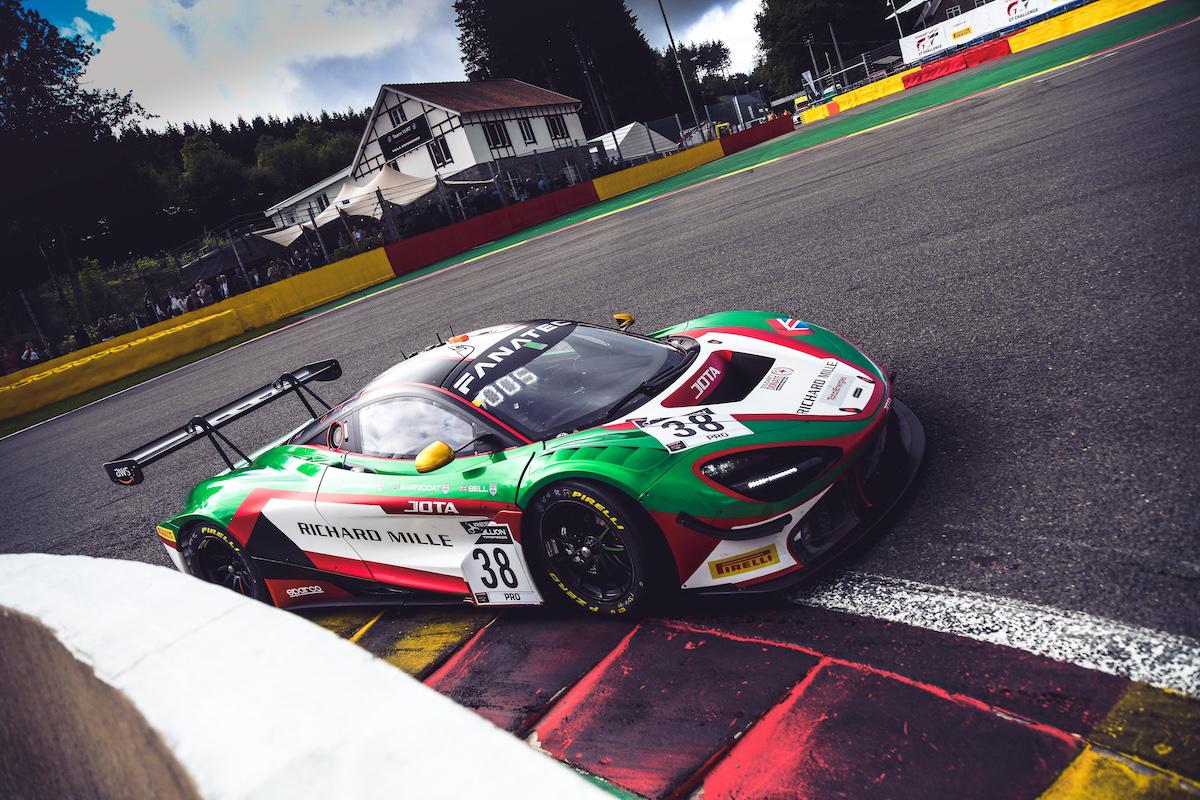 2021 – GT World Challenge Europe, McLaren 720S GT3